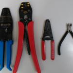 独立型太陽光発電の電気系配線に使う工具