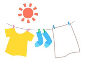 洗濯物のイメージ