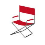 キャンプ用折り畳み椅子のイメージ