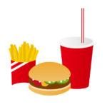 ハンバーガーセットのイメージ