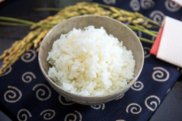 鍋で炊いたお米
